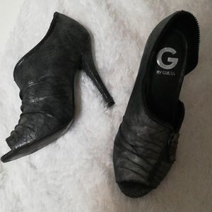 Gunmetal Guess heels